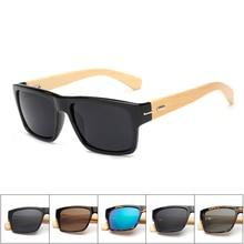 Square Goggles Wood Sunglasses font b gafas b font font b de b font font b