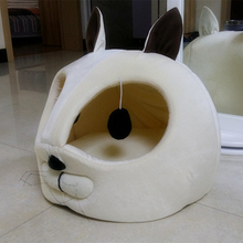 Warm, portable mouse-shaped cat bed / cave / 2 Colors