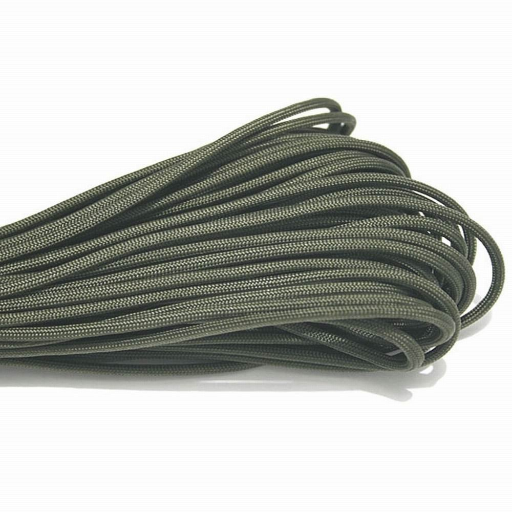 Paracord 550 Parachute Cord Lanyard Rope Mil Spec Type III 7 Strand 100FT 31m Climbing Camping survival equipment Climbing rope