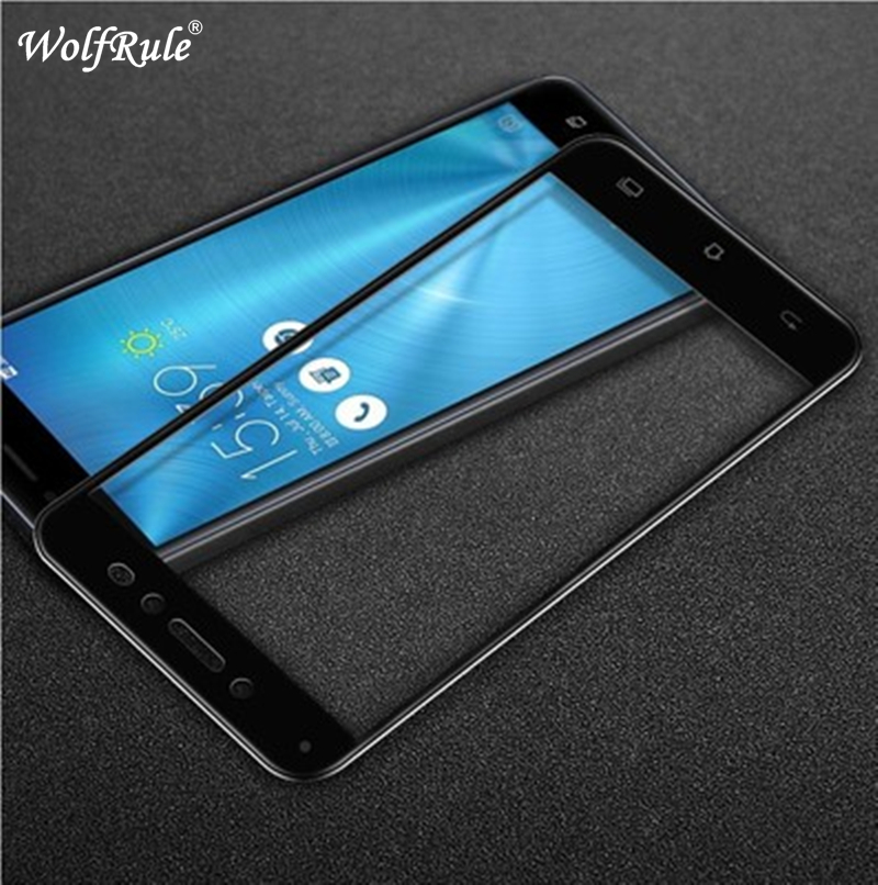 Galleria fotografica 2pcs Glass Asus Zenfone Live ZB501KL screen protector Film 2.5D Anti-Brust Tempered Glass For Asus Zenfone Live ZB501KL Glass