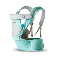 Breathable Portable 3 In 1 Mutifuctional Baby Carrier 6 Carry Ways Double Safety Baby Sling Adjustable For 0 36M Baby Cangaroo