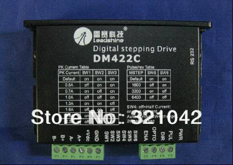 цена на LeadShine DM422C 2 Phase Stepper Motor Driver Up to 40VDC / 2.2A 512 microstep