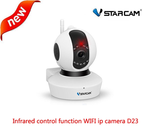 VStarcam D23 WiFi IP Security Camera 720P 1MP HD Network Onvif P2P Motion Detection CCTV Night Vision IR Control Home Cam hd 720p onvif 2 0 security antenna ip camera wifi cmos night vision h264 ptz motion detection ir indoor security camera