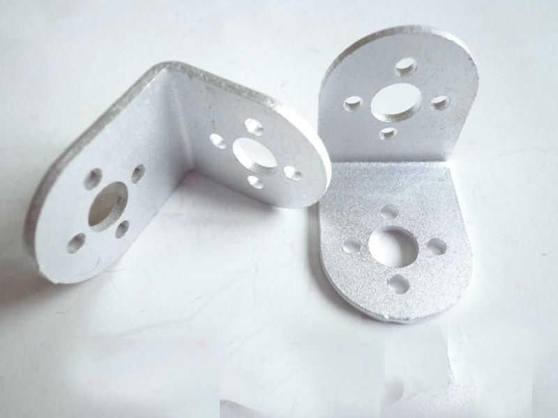 L сервокронштейн l-типа крепление стент для Механическая Роботизированная рука гуманоидная часть/Accessory на Arduino рамка панель Diy Умная игрушка для автомобиля