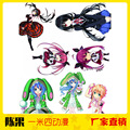 1.4 m Mixta 1 UNID anime Hatsune Miku FECHA A LIVE Pegatinas ONE PIECE Niños infantil Chicos Cartoon Pegatinas de Decoración Regalo de navidad