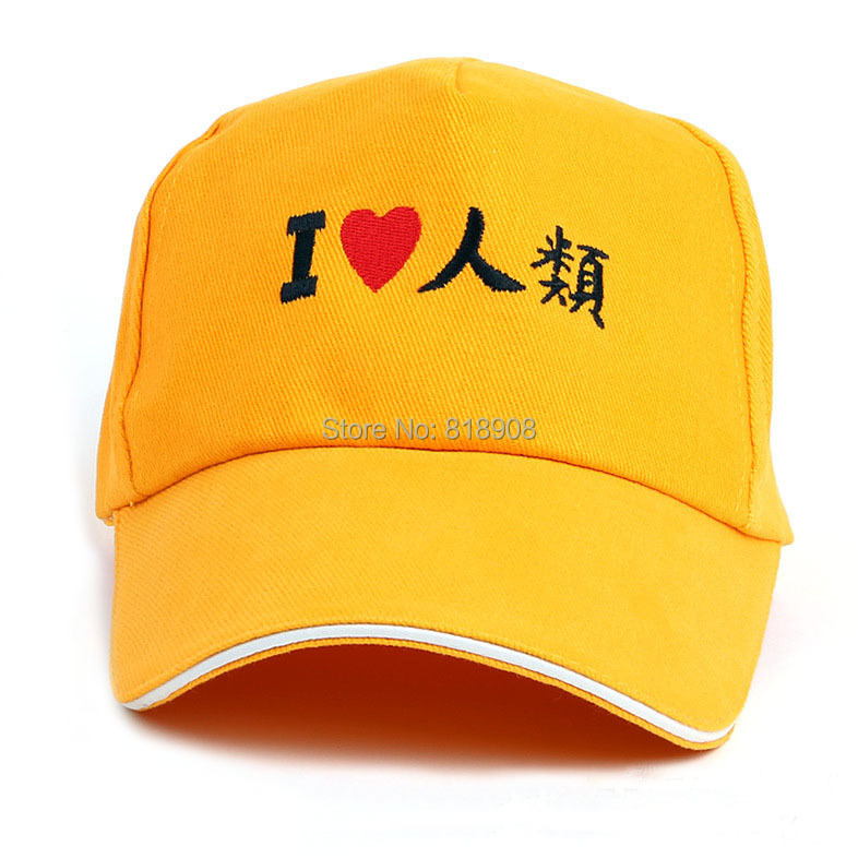 No game no life l love human cotton cos sun hat baseball hat anime costume holloween mask party COS