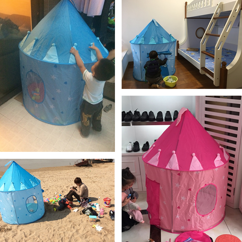 Princess Castle Play Tent Gift for Girls / Boys Childrens Play Tents for Indoor u0026 Outdoor Use-in Toy Tents from Toys u0026 Hobbies on Aliexpress.com   Alibaba ... & Princess Castle Play Tent Gift for Girls / Boys Childrens Play ...