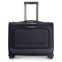 16 inch women suitcase men travel luggage bag handbag oxford fabric trolley case computer bags, new style, lock, mute waterproof