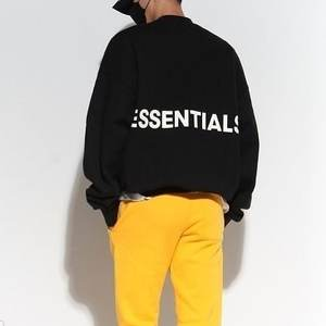 Image 2 - Qoolxcwear 2019 Mannen/Vrouwen Hoodies Sweatshirts Kanye West Fog Losse Ovesized Hoodies Essentials Hip Hop Katoen Sweatshirts