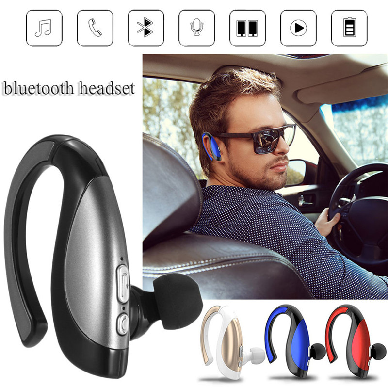 Noise Cancelling Earphone Headset Stereo Bluetooth 4.1 Sports Waterproof Music Player in-earphones With Handsfree Mic Earbuds aisike bluetooth4 0 earphone wireless sports in ear headset running music stereo earbuds handsfree with mic smartphones