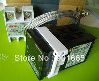 Digital PID Temperature Controller 25A SSR K Thermocouple Probe