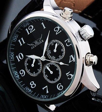 JARAGAR Luxus Automatische Mechanische Selbst wind Uhr Männer Tag Datum Armbanduhr männer Sport Business Kleid Uhren Uhr Männlich geschenke