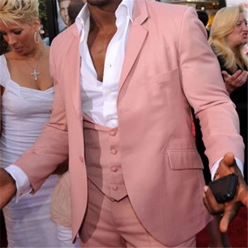 5a411a3285d2 Купить Оптом Повседневная Розовый Летние Мужские Костюмы Костюм ...