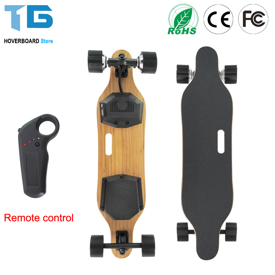 Electric Skateboard Skate Board 7 Layers Canada Maple Longboard 4 Wheels Electric Scooter Hoverboard 83mm Hub Motor [cool skating] fashion x8 skate cycle 2 wheels skate board roller drift skatecycle skateboard stunt scooter better than cx