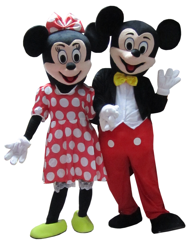 new High quality minnie mascot mouse mascot costume  free shipping santa claus mascot costume christmas cosplay mascot costume free shipping