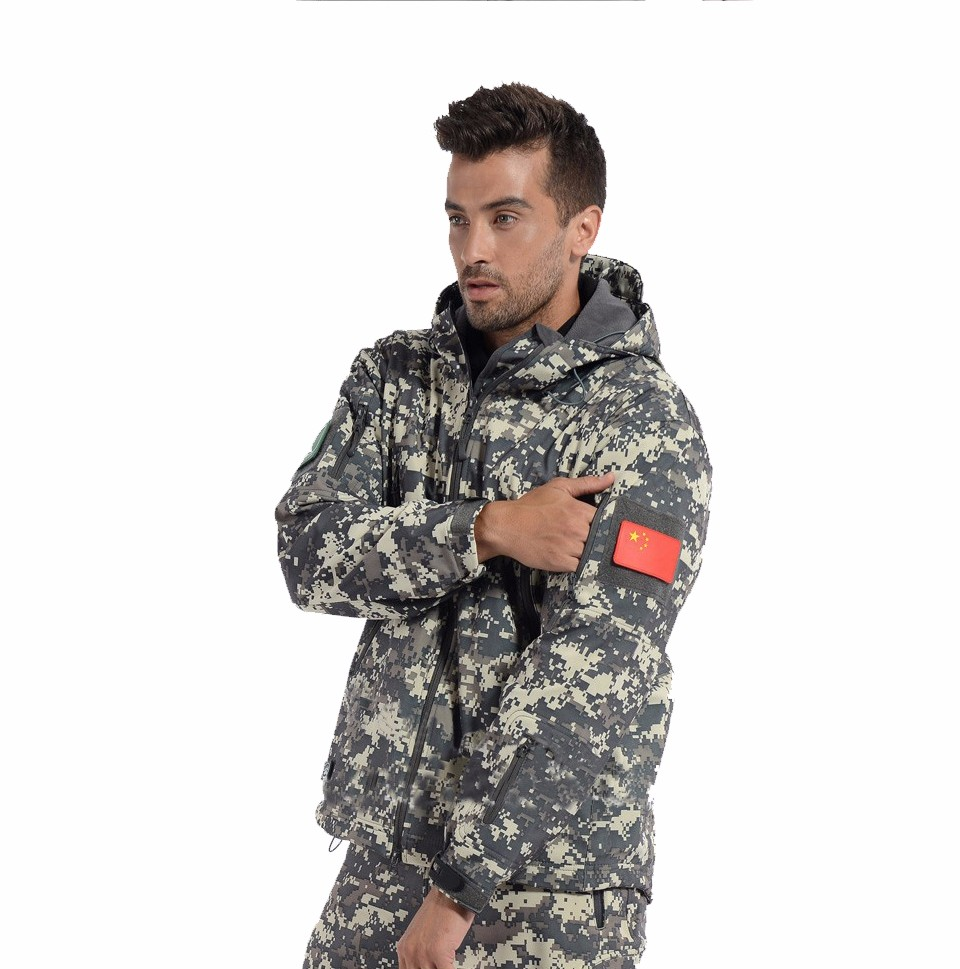 camouflage outdoor jacket