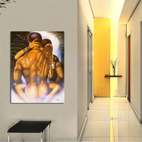 Modern Fashion Decoration Wall Art Painting Nude Body Loves Painting HD Printing Picutre No Framed