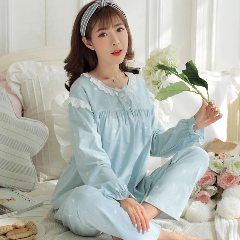 Dollplus Maternity Clothes Maternity Pajamas 2018 Breastfeeding Sleepwear Cotton Nursing Clothes For Pregnant Women Homewear