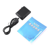 X009 GSM GPRS With Mini Hidden Surveillance Camera Audio Video Record Monitor DV Support SIM Card