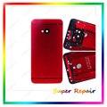 Новый Передняя Панель Рамка + Назад Корпус Батареи Двери Для HTC One M7 801e Корпуса Красный Цвет + Инструменты Бесплатная Доставка