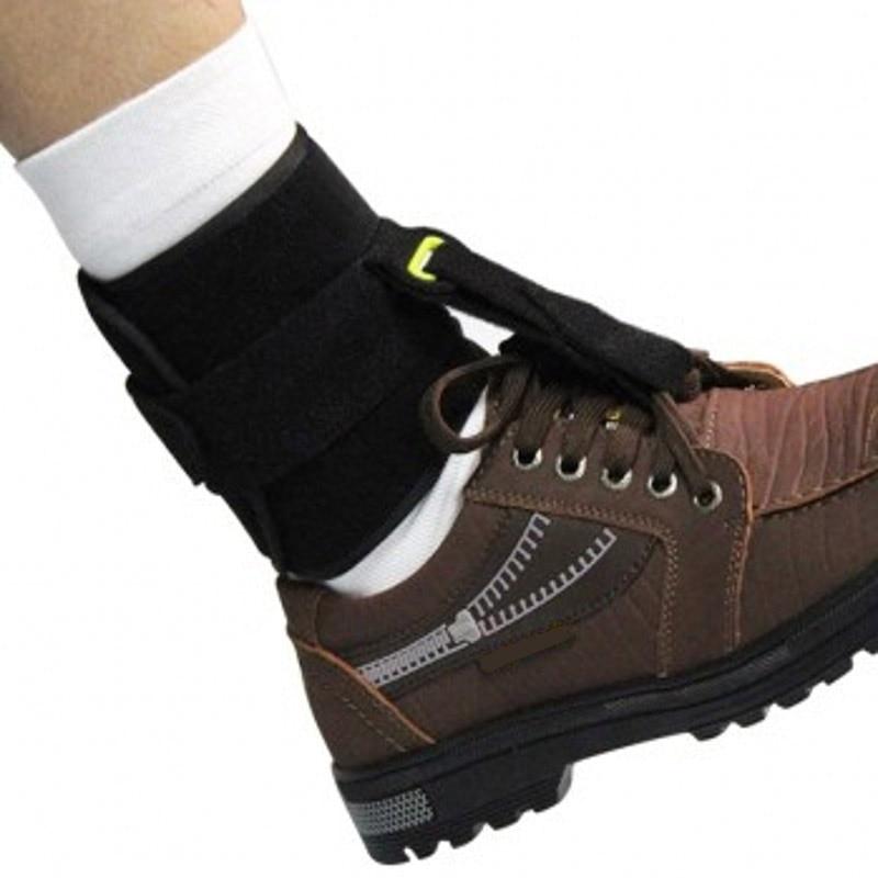 Good Healthy Universal Adjustable Ankle Foot Orthosis Drop Brace Bandage Strap for Plantar Fasciitis
