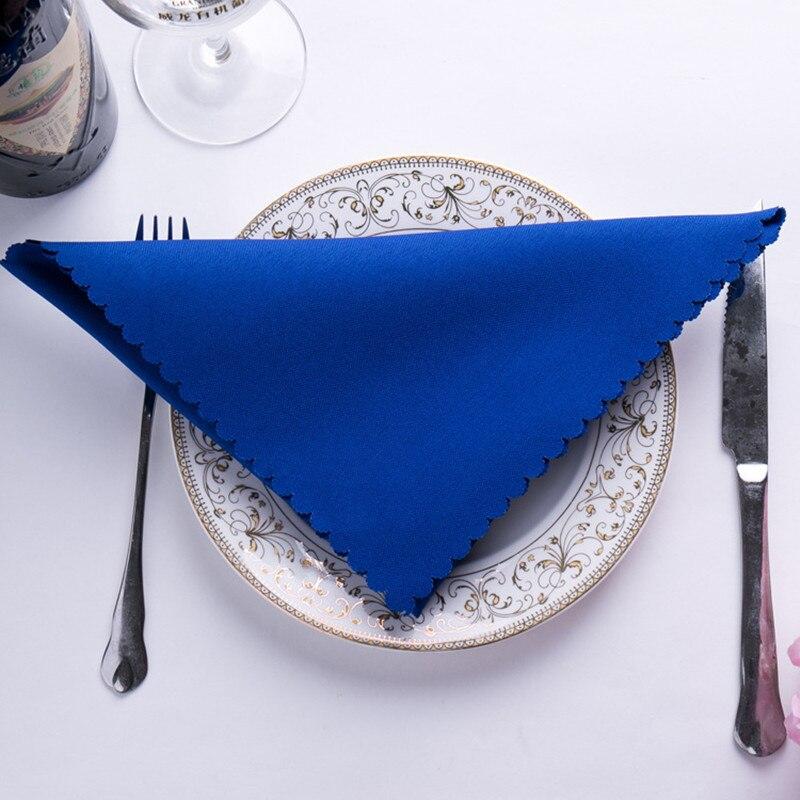 Royal Blue table linens napkin Free Shipping 100pcs