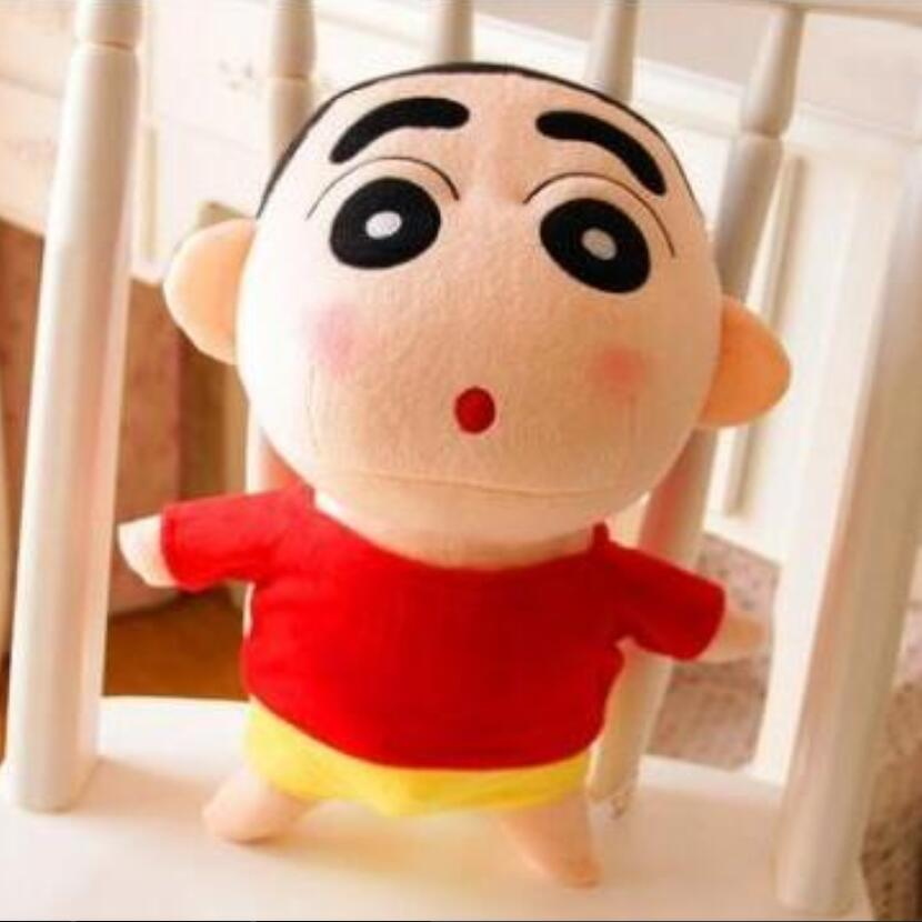 1pcs 20cm Crayon Shin Chan Stuffed Plush Doll Japanese Anime Action Figure For Best Gift Plush Doll Plush Toys Gift For Girl 8pcs lot anime crayon shin chan mini pvc action figure cute crayon shin chan figures toys doll collectible model toy gift