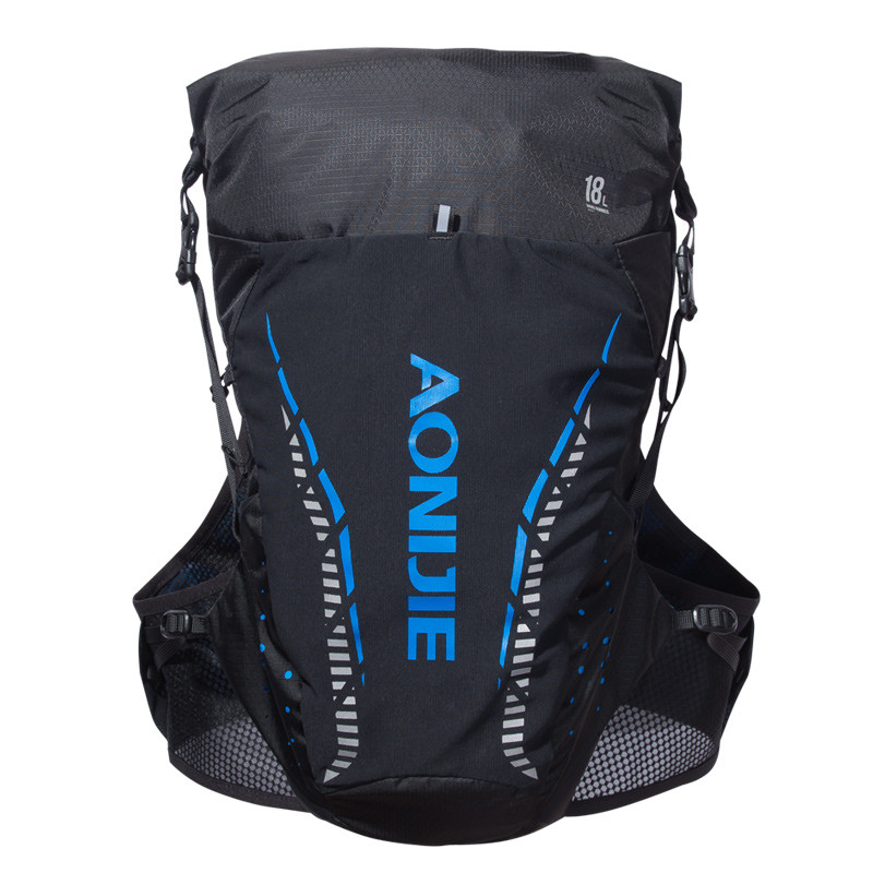 AONIJIE 屋外水分補給パック 18L ランニングベストパック防水ナイロン軽量反射デイパックスポーツバッグ  グループ上の スポーツ & エンターテイメント からの ランニングバッグ の中 2