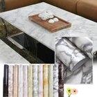 61X50cm Granite Marble Effect Waterproof Vinyl PVC Wallpaper Self Adhesive Peel Stick Rolling Paper Room Decoreation