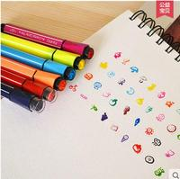 AIHAO 1881 Washable Markers Seal 36colors Watercolor Pen Thick Head Pen