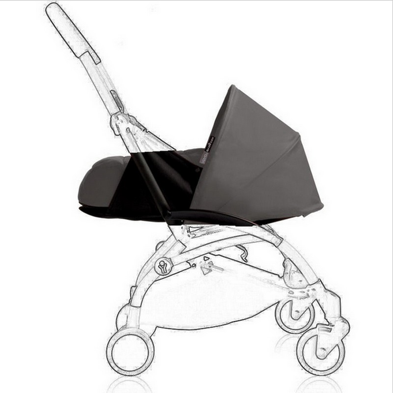 2017 Promotion New Cotton Dsland Baby Carriage Six Color Newborn Baby Sleeping Basket 0~6 Months Use Carriage Fit Yoya Stroller  free 3 in 1 baby strollers light baby car sleeping basket newborn baby carriage 0 36 months europe baby pram carriage five color