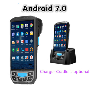Image 4 - 5.0 inç 1D/2D QR barkod tarayıcı NFC WIFI PDA Android 7.0 5 inç kablosuz taşınabilir barkod okuyucu el POS terminali