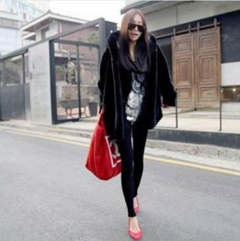 Fausse 2019 D'hiver Femme Fourrure Veste Artificielle Plus Faux Femmes Outwear Furry Nouveau Taille Manteau Fluffy Z26 De La Z4xdwq