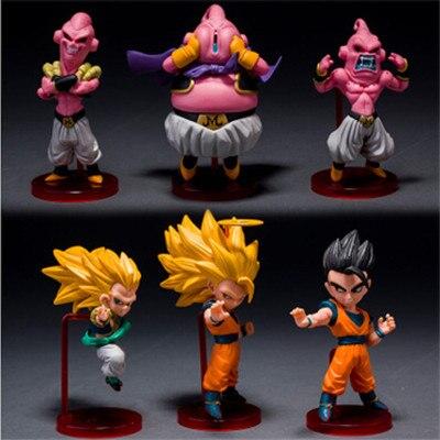 Latest Collection Of 6pcs/set Dragonball Z Dragon Ball Dbz Super Saiyaman Son Goku Gohan Goten Ubu Budokai Frieza Piccolo Action Figure Toy Toys & Hobbies