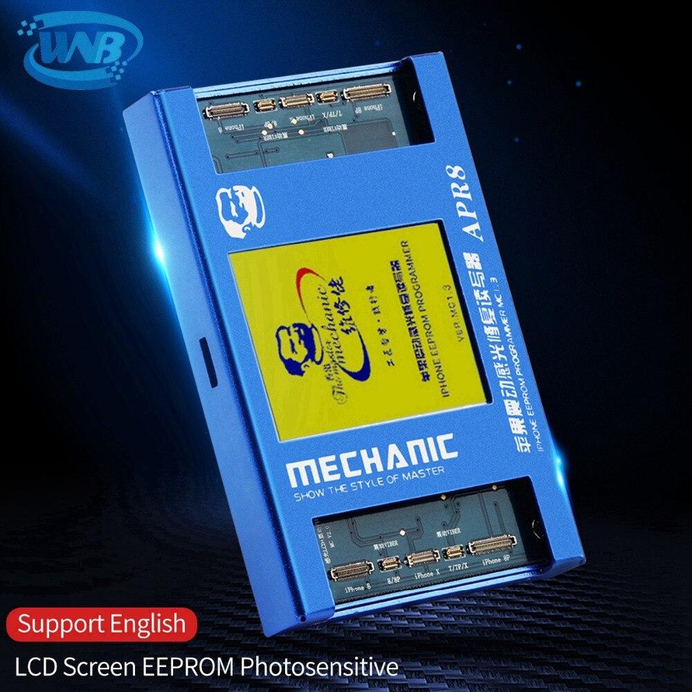 MECHANIC LCD Screen Photoreceptor Repair Programmer For 7G 7P 8G 8P X Photosensitive APR8 Vibration Code