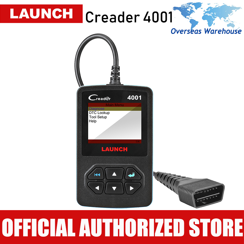Starten Creader 4001 OBD2 Scanner Auto Fehler Code Reader Auto Diagnosescan-werkzeug Autoscanner Automotive OBD 2 Diagnose CR4001