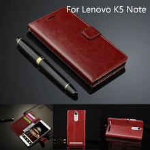Phone Case For Lenovo K5 Note A7020 5.5 inch Ultra Thin Leather Case For Lenovo Vibe K5 Note Case Wallet Flip Cover Luxury Capa цена
