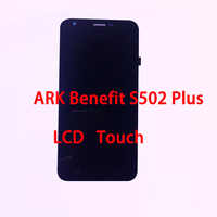 RYKKZ For ARK Benefit S502 Plus LCD Display With Touch Screen Digitizer Assembly Replacement