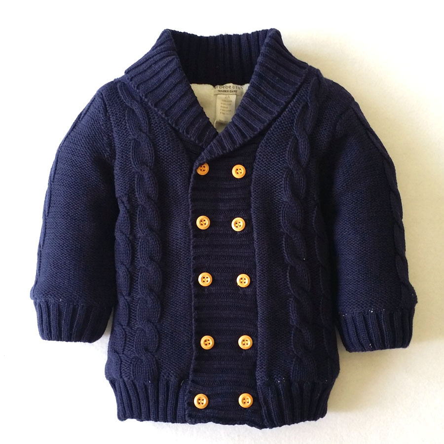 377405961f7b Baby boy girl Winter Thick Clothes kids Warm sweater Jacket winter ...