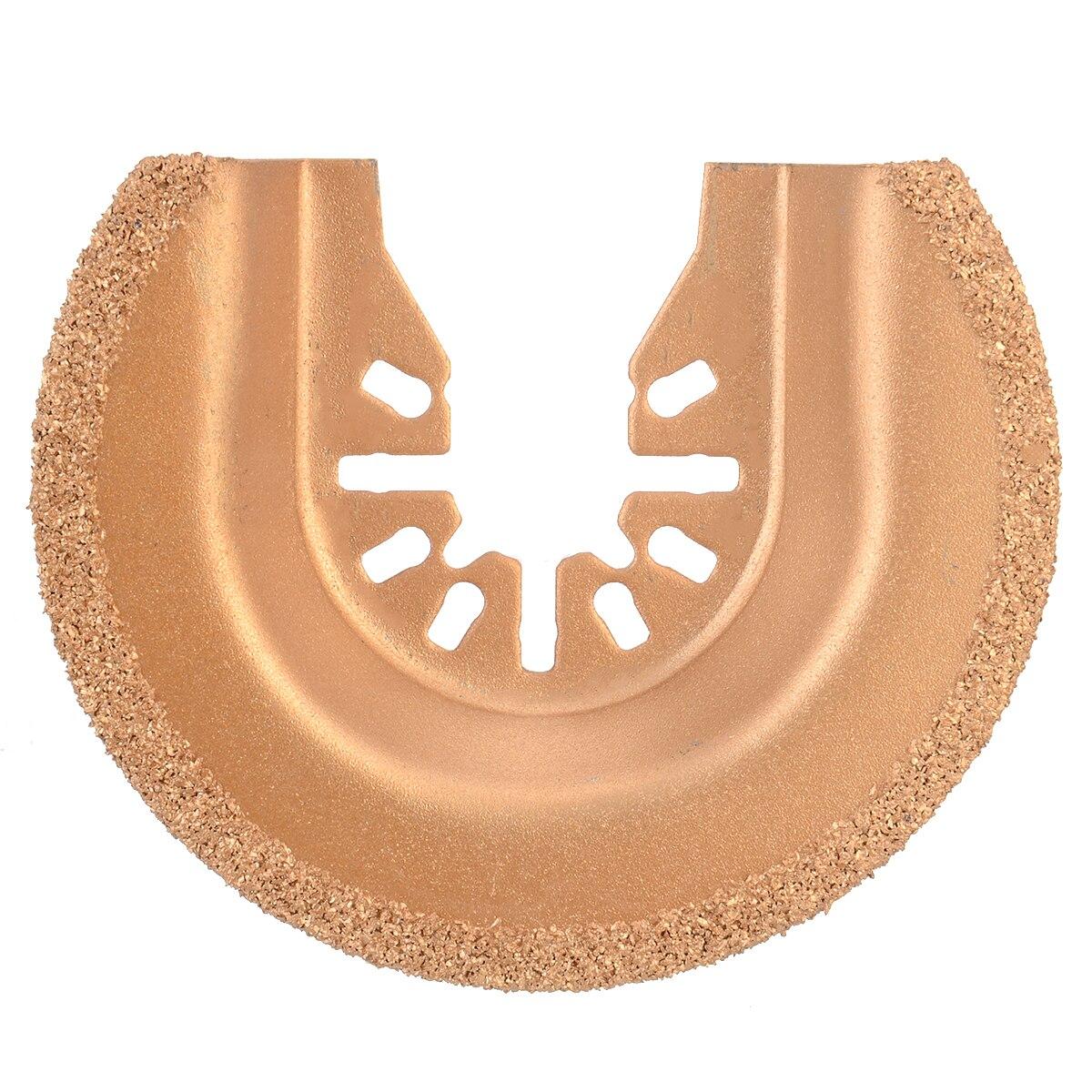 65 мм Мультитул пилы полукруг многофункциональный инструмент сегмент пилы карбида вольфрама решетки для затирки плитки резки электроинструментов
