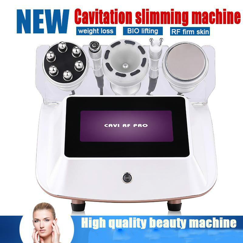 2019 New 5 In1 Skin Lifting Firming Ultrasonic Liposuction Cavitation Vacuum Body Shape Slimming Machine With CE Approved