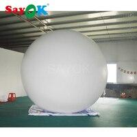 Индивидуальные рекламные воздушные шары надувной Гелиевый шар ПВХ, надувной воздушный шар для событий (4 м)