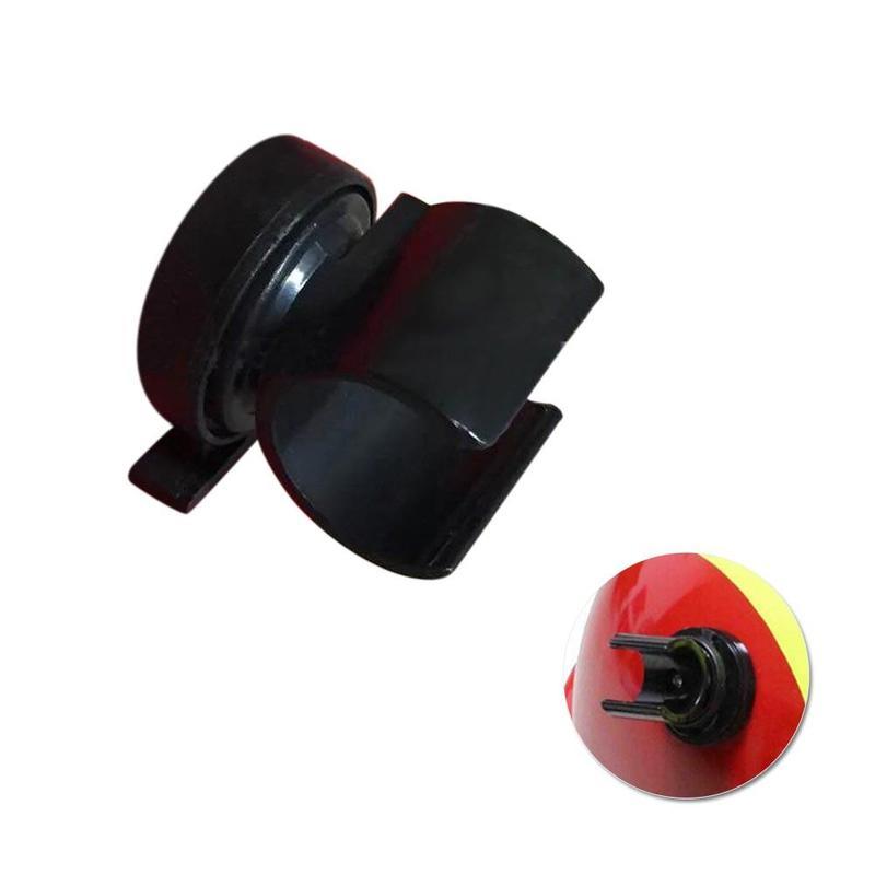 1 Pcs Tactical Helmet Flashlight Holder Outdoor Climbing Helmet Flashlight Holder Headpiece Accessories Black Flashlight Stents