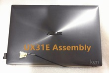 Free Shipping Free Shipping NEW 90% for asus Zenbook UX31E Lcd Screen with AB cover 13.3 inches HW13HDP101 RESULTED assembly