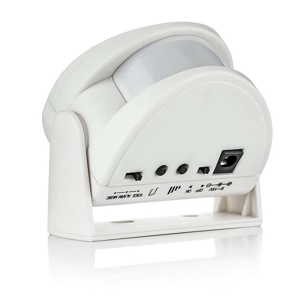 Golden Security Wireless Door Bell Welcome Chime Alarm Music Switch PIR Motion Sensor Home Hotel Entry Security Doorbell