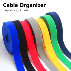 Nylon Cable Ties Organizer Cord Winder Strap USB Cable Holder Protector Earphone Mouse Wire Management