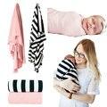 2 Pack Bebé Suave Manta Swaddle Lecho Sabanitas Recién Nacido Infantil Del Verano 100% Algodón ropa de Cama de Regalo de la Ducha para La Muchacha Del Muchacho