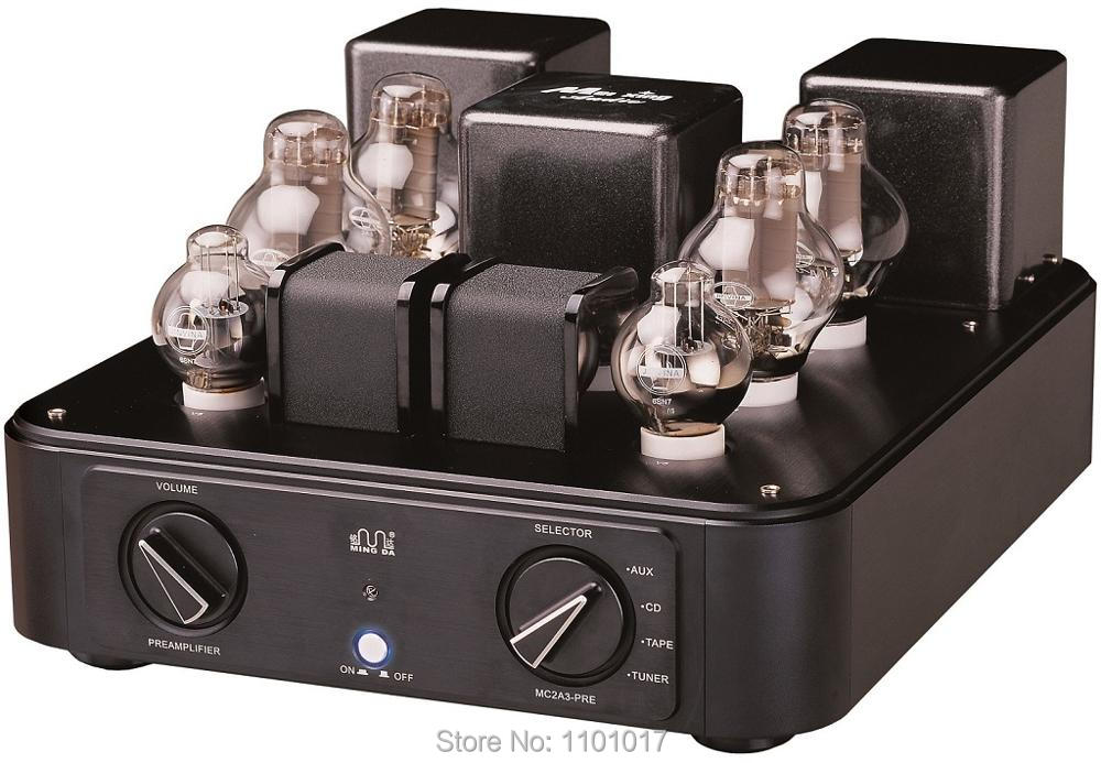 Meixing Mingda MC2A3-PRE Balanced Tube PreAmplifier HIFI EXQUIS High-end Vacuum 2A3 Lamp Pre-AMP music hall luxury fully balanced pre amp hifi preamplifier xlr input remote control led refer to ml380s