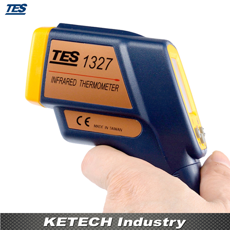 Non-Contact Infrared Thermometer (-35-500C) TES-1327 contact