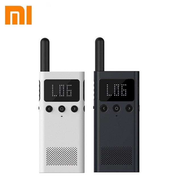Xiaomi Mijia Walkie Talkie Interphone 1S FM Radio 5 Dayds Standby Phone APP Location Share Fast